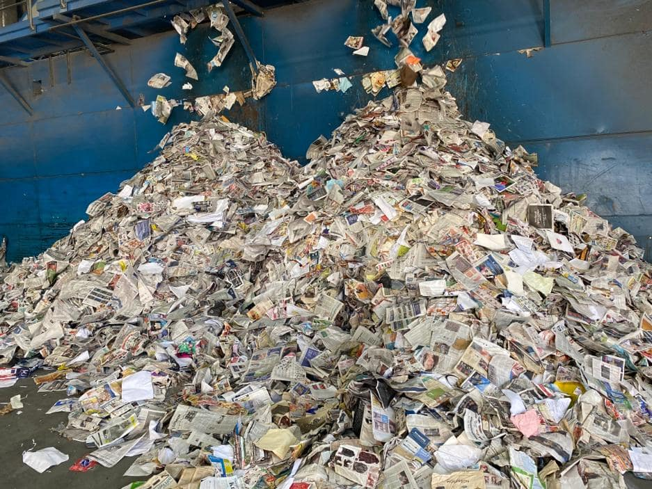 paper waste recycling