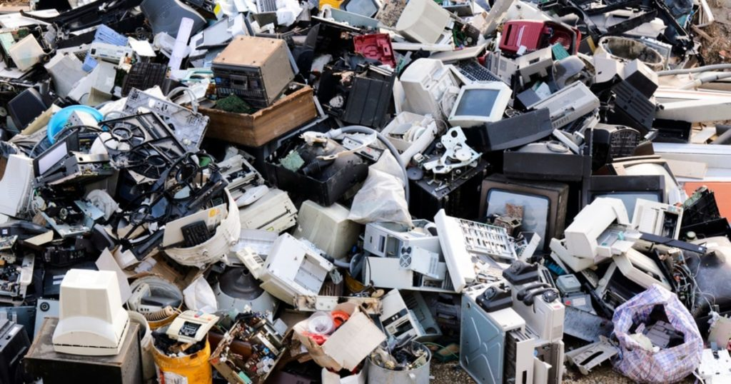 disposal and recycling of electronic waste in UK