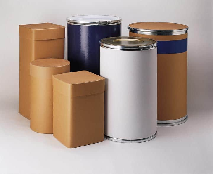 sustainable fibre drums