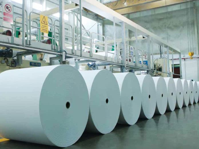 Paper imports from China increased by 14%
