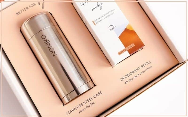 Deodorant in recyclable packaging